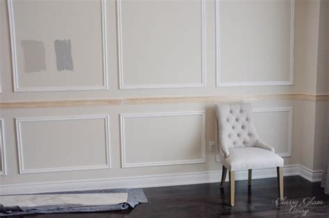 restoration hardware inspired diy wainscoting chair rail