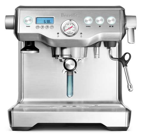 breville coffee grinder and maker breville stainless steel dual boiler espresso machine