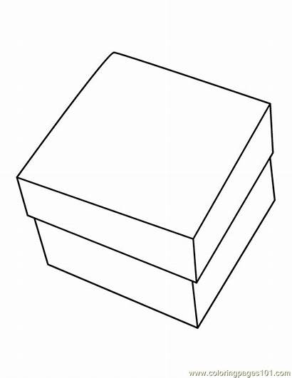 Box Coloring Pages Printable Various Coloringpages101 792px