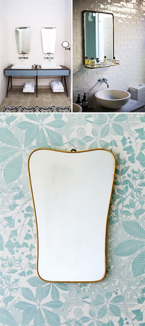 Retro Bathroom Mirrors by I A Thing For These Mirrors Sfgirlbybay