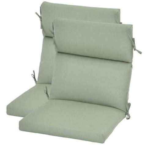 high back patio chair cushions home depot hton bay spa blue deluxe high back outdoor chair