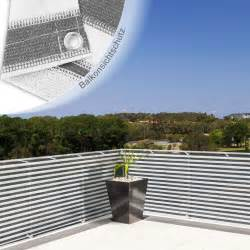 seiten sichtschutz balkon sichtschutz in grau kreative ideen für ihr zuhause design