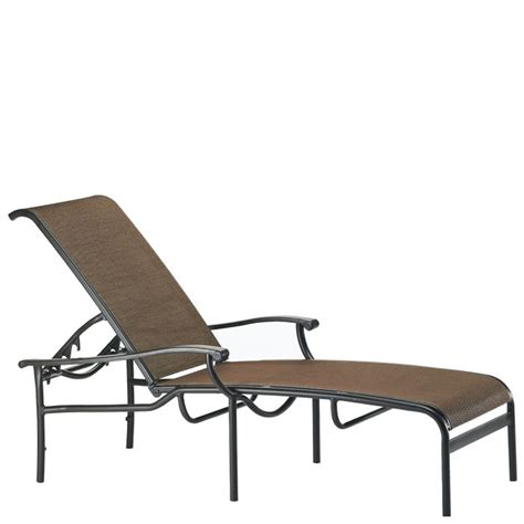 chaises discount tropitone 200832 sorrento relaxed sling chaise lounge