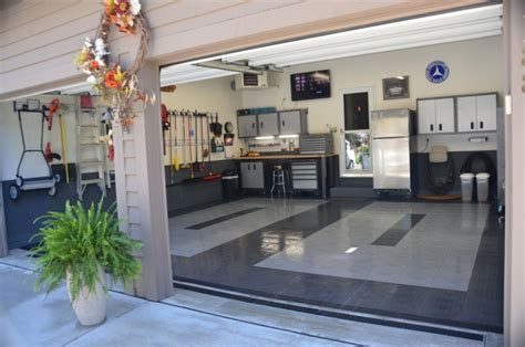 20  Garage Flooring Tile Designs, Ideas   Design Trends