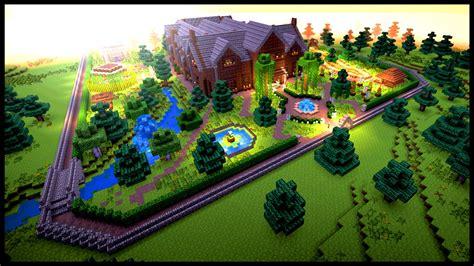 designing your garden in minecraft