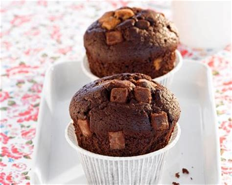 cuisine de noel facile recette muffins au chocolat