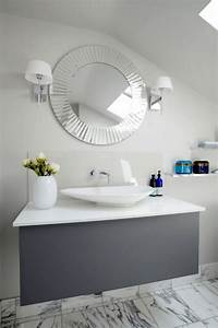 miroir salle de bain qui reflete votre style et personnalite With miroir salle de bain moderne
