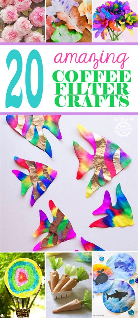 Now your probably wondering what is a micron? 20+ Amazing Coffee Filter Crafts | Kids Activities Blog