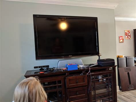 update help is this tv mounted high