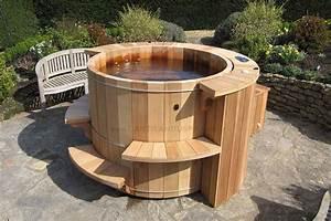 Salon Exterieur En Bois : photos de nos r alisations de spa en bois ~ Premium-room.com Idées de Décoration