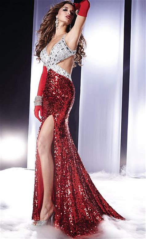 panoply sequin halter prom dress  french novelty