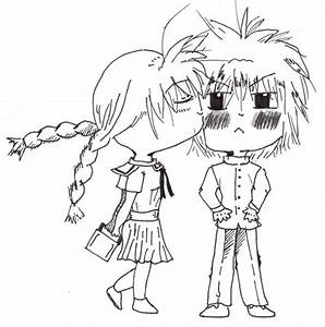 The gallery for --> Chibi Boy And Girl Kissing