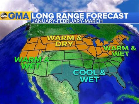 range weather forecast el nino update and what of weather to expect for rest