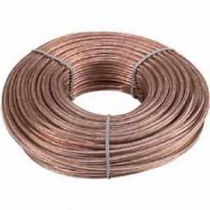 16 Gauge 50 Feet 2 Conductor Stranded Speaker Wire For Car