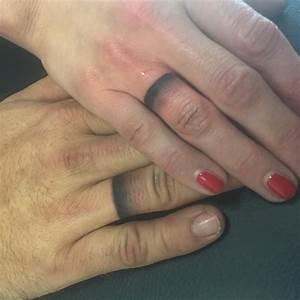 148 best love tattoos for men images on pinterest couple With wedding ring finger for men