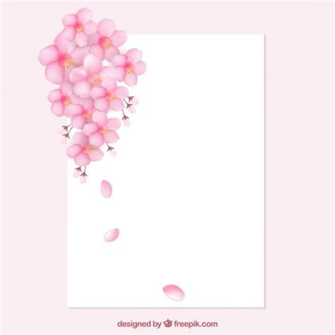 cherry blossom border  clip art clipground
