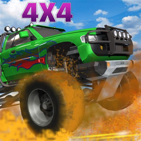 Get ready to go off road in one of these awesome rigs! 4x4 Off Road Monster Truck