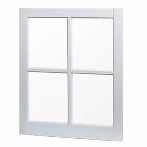 TAFCO WINDOWS 24 in x 29 in Utility Fixed Picture Vinyl