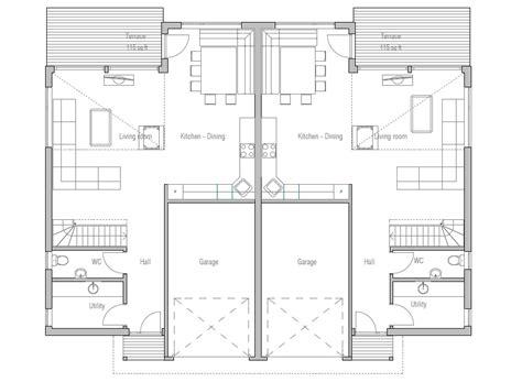 modern duplex house plans smalltowndjs