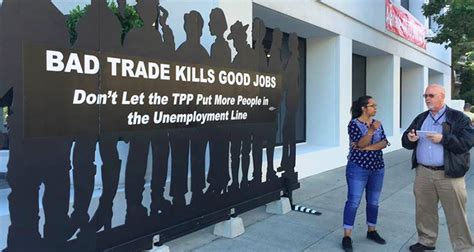 Tpp Deal Would Endanger California Jobs, Wages