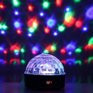 6 Channel Dmx512 Control Panel Led Disco Dj Stage Lighting Digital Led Rgb Crystal Ball Effect