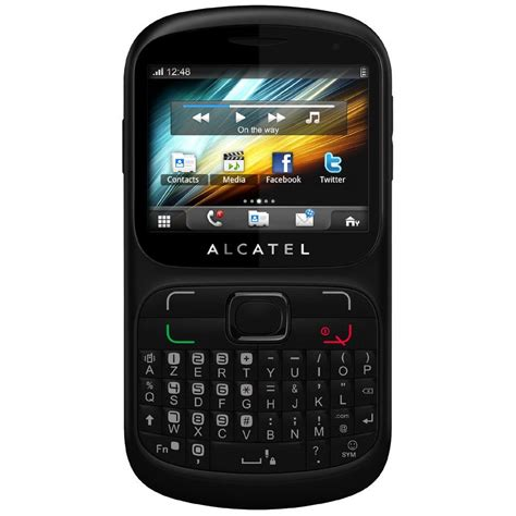 alcatel one touch 813d black mobile phones