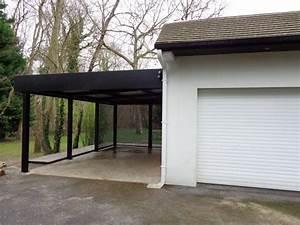 les 25 meilleures idees de la categorie carport aluminium With maison toit plat bois 14 carport aluminium adosse talis 8 x 3 5 m direct abris