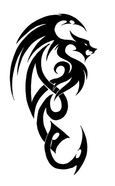simple drawing  dragon tattoo images