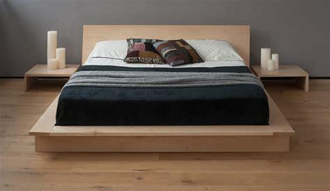 Platform Bed Frame by Solid Wood Platform Bed Frame Design Selections Homesfeed