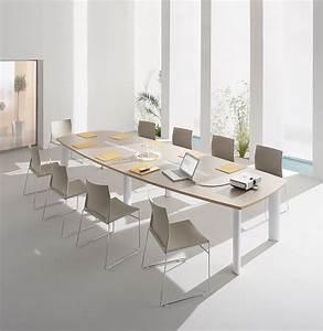 Table 12 Personnes : tables de conf rence table de r union 10 personnes fr gate mobilier de bureau entr e ~ Teatrodelosmanantiales.com Idées de Décoration