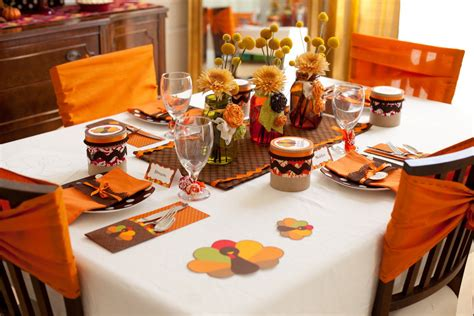 style of thanksgiving table decorations home decor and design