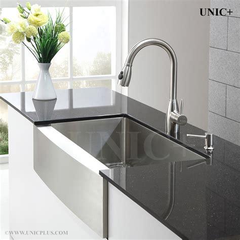 kitchen sink farming 33 inch small radius stainless steel farm apron kitchen 2699
