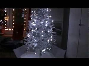 Weißer Weihnachtsbaum Mit Beleuchtung : weihnachten schneiender weihnachtsbaum wei silber mit viel schnee snowing x mas tree youtube ~ Eleganceandgraceweddings.com Haus und Dekorationen