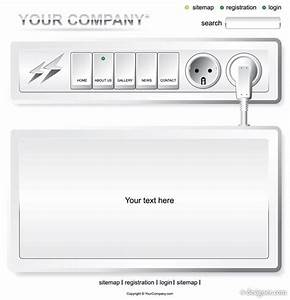 4 designer vector electrical outlet switch pages With electrical outlet template