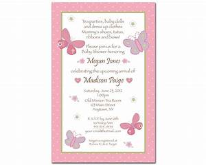 Butterfly Baby Shower Invitations | THERUNTIME.COM
