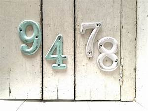 house numbers address numbers metal house numbers house With metal house letters