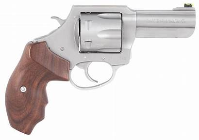 Charter Arms 357 Professional Mag Round Wood