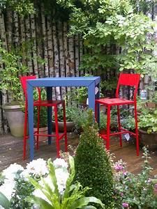 Mange Debout Jardin : jardin chaise up mange debout zonda mati re grise mobilier metal outdoor matiere grise ~ Teatrodelosmanantiales.com Idées de Décoration
