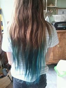 Brown Hair Blue Tips Tumblr | www.pixshark.com - Images ...