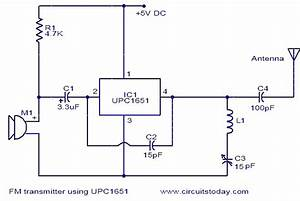 Fm Transmitter Using Upc1651