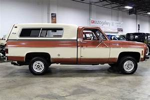 1977 Chevrolet Cheyenne 31863 Miles Russet Orange Pickup Truck 350ci V8 4 Speed For Sale  Photos