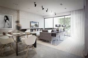 Décoration Appartement Moderne : d coration int rieure appartement par studio o ~ Nature-et-papiers.com Idées de Décoration