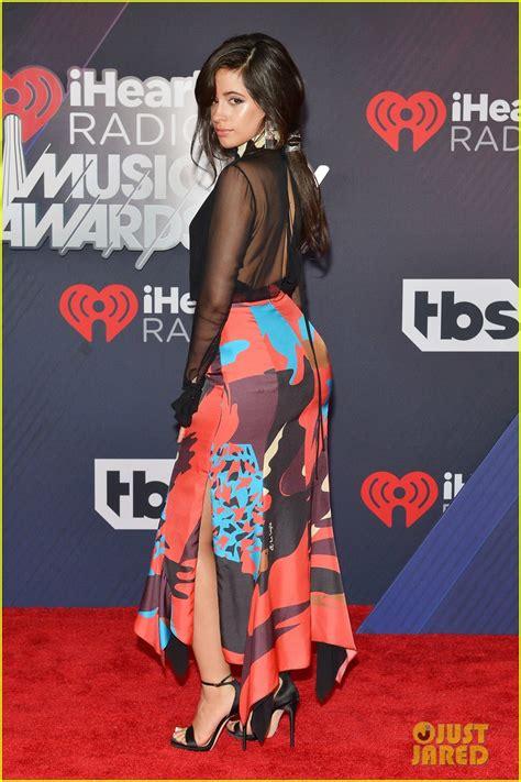 Camila Cabello Walks The Iheartradio Music Awards Red