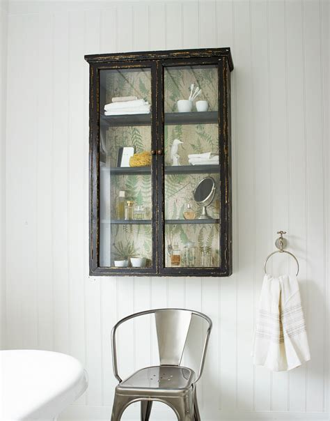 Objects Of Design 160 Glass Fronted Wall Cabinet Mad