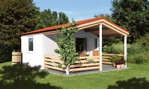 Kleines Holzhaus Bauen : modernes gartenhaus aus holz mit terrassendach kleines holzhaus satteldach ~ Sanjose-hotels-ca.com Haus und Dekorationen