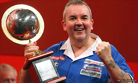 bbc sport darts phil taylor powers   world darts