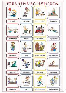 Free Time Activities #2 worksheet - Free ESL printable ...