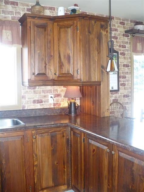 pin armoire de cuisine en pin on pinterest