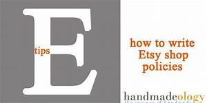 how to write etsy shop policies tell your customers what With etsy policies template