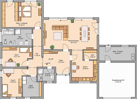 Moderne Bungalows Grundrisse by H 228 User In 2019 Wohnen Grundriss Bungalow Kern Haus